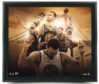 "Stephen Curry Signed Golden State Warriors ""Golden State"" 20x24 Custom Framed LE Photo (UDA COA) at PristineAuction.com"