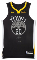Stephen Curry Signed Golden State Warriors LE The Town Jersey (UDA COA) at PristineAuction.com