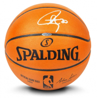 Stephen Curry Signed Official NBA Game Ball Basketball (UDA COA) at PristineAuction.com