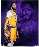 Anthony Davis Signed Los Angeles Lakers 20x24 Photo (UDA COA) at PristineAuction.com