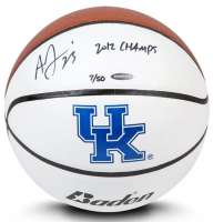 "Anthony Davis Signed LE Kentucky Wildcats Logo Basketball Inscribed ""2012 CHAMPS"" (UDA COA) at PristineAuction.com"