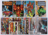 "Lot of (42) 1996-2008 ""Iron Man"" 1st Series Marvel Comic Books at PristineAuction.com"