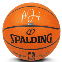 Anthony Davis Signed Official NBA Game Ball Basketball (UDA COA) at PristineAuction.com