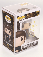 Isaac Hempstead Wright Signed Game of Thrones #83 King Bran The Broken Funko Pop! Vinyl Figure (PSA COA) at PristineAuction.com