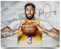 Anthony Davis Signed Los Angeles Lakers 16x20 Photo (UDA COA) at PristineAuction.com