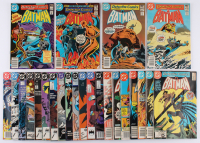 "Lot of (24) 1981-1990 ""Batman"" 1st Series DC Comic Books at PristineAuction.com"