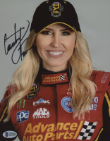 Courtney Force Signed NASCAR 8x10 Photo (Beckett COA) at PristineAuction.com