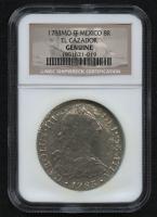 1783-MO FF Mexico 8 Reales Silver Coin - El Cazador - Original Shipwreck Coin (NGC Genuine) at PristineAuction.com