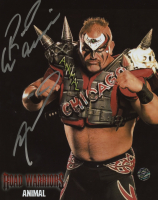 "Joe Laurinaitis Signed ""Road Warriors"" 8x10 Photo Inscribed ""Road Warriors"" (Legends COA) at PristineAuction.com"