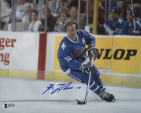 Guy Lafleur Signed Quebec Nordiques 8x10 Photo (Beckett COA) at PristineAuction.com