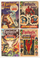 "Consecutive Lot of (4) 1966 ""Fantastic 4"" 1st Series Marvel Comic Books at PristineAuction.com"