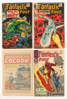 "Lot of (4) 1967-1968 ""Fantastic 4"" 1st Series Marvel Comic Books at PristineAuction.com"