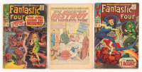 "Lot of (3) 1967 ""Fantastic 4"" 1st Series Marvel Comic Books at PristineAuction.com"