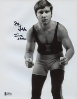 """Dan Gable Signed Iowa State Cyclones 8x10 Photo Inscribed """"Iowa State"""" (Beckett COA) at PristineAuction.com"""