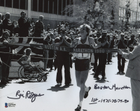 "Bill Rodgers Signed 8x10 Photo Inscribed ""Boston Marathon"" & ""1st - 1975-78-79-80"" (Beckett COA) at PristineAuction.com"