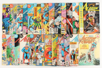 "Lot of (25) 1974-1988 ""Action Comics: Superman""  DC Comic Books at PristineAuction.com"
