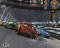 "Richard Petty Signed ""Cars"" 8x10 Photo (Beckett COA) at PristineAuction.com"