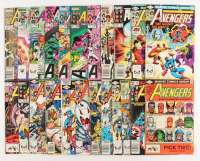 "Lot of (23) 1980-1990 ""The Mighty Avengers"" 1st Series Marvel Comic Books at PristineAuction.com"