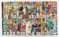 "Lot of (36) 1989-1995 ""Avengers"" 1st Series Marvel Comic Books at PristineAuction.com"