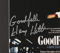 """Henry Hill Signed LE """"Goodfellas"""" 23x25 Custom Framed Poster Display Inscribed """"Goodfella"""" with Replica Gun & Prop Money (PSA COA) at PristineAuction.com"""