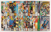 "Lot of (33) 1983-1993 ""Action Comics"" DC Comic Books at PristineAuction.com"