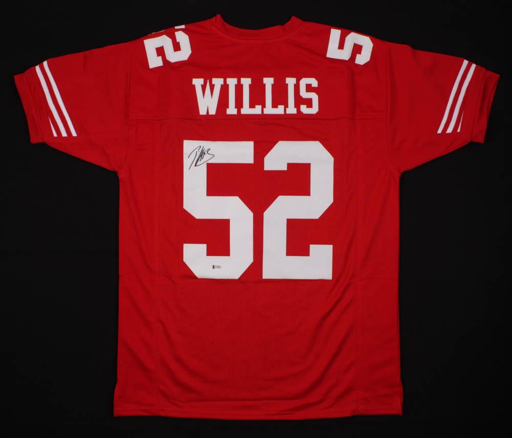 Patrick Willis Signed Jersey (Beckett COA) | Pristine Auction