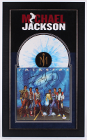 Jackson 5 19.5x31.5 Custom Framed Vinyl Record Display Signed by (5) with Michael Jackson, Randy Jackson, Jermaine Jackson, Marlon Jackson & Tito Jackson (PSA Hologram) at PristineAuction.com
