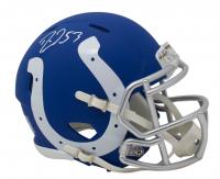 Darius Leonard Signed Indianapolis Colts AMP Alternate Speed Mini Helmet (JSA COA) at PristineAuction.com