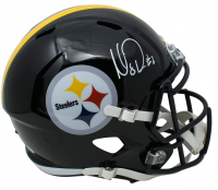 Mason Rudolph Signed Pittsburgh Steelers Full-Size Speed Helmet (JSA COA) at PristineAuction.com