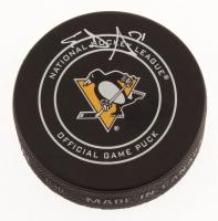 Evgeni Malkin Signed Pittsburgh Penguins Logo Hockey Puck (TSE COA) at PristineAuction.com