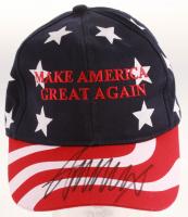 Donald Trump Signed Snapback Hat (PSA LOA) at PristineAuction.com