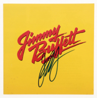 """Jimmy Buffet Signed """"Songs You Know By Heart"""" CD Album Booklet (JSA COA) at PristineAuction.com"""