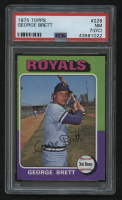 1975 Topps #228 George Brett RC (PSA 7) (OC) at PristineAuction.com