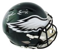 Zach Ertz Signed Philadelphia Eagles Full-Size Authentic On-Field Speed Helmet (Radtke COA) at PristineAuction.com