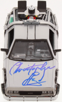 "Christopher Lloyd Signed ""Back to the Future Part II"" DeLorean 1:24 Diecast Car (Beckett COA) at PristineAuction.com"