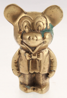 Vintage 1960s Heavy Brass Mickey Mouse Figure at PristineAuction.com