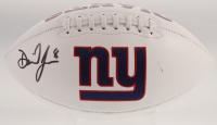 Daniel Jones Signed New York Giants Logo Football (Beckett Hologram) at PristineAuction.com