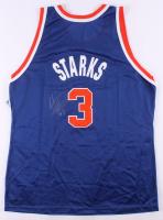 John Starks Signed New York Knicks Jersey (Beckett COA) at PristineAuction.com