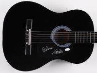 """Cheech Marin & Tommy Chong Signed 38"""" Acoustic Guitar (JSA Hologram) at PristineAuction.com"""
