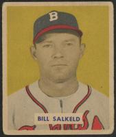 1949 Bowman #88 Bill Salkeld (Altered) at PristineAuction.com