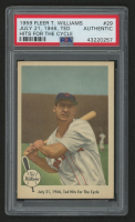 1959 Fleer Ted Williams #29 / 1946 / Ted Hits For The Cycle (PSA Authentic) at PristineAuction.com