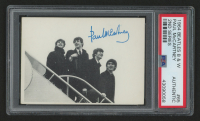 1964 Topps Beatles Black & White #62 Paul McCartney / 2nd Series (PSA Authentic) at PristineAuction.com