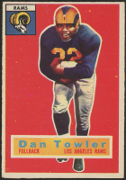 1956 Topps #90 Dan Towler (Altered) at PristineAuction.com