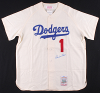 Pee Wee Reese Signed Los Angeles Dodgers Jersey (Beckett COA) at PristineAuction.com