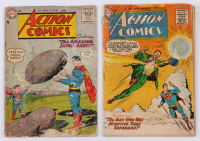 "Lot of (2) 1955-1956 ""Superman"" Action Comics DC Comic Books at PristineAuction.com"