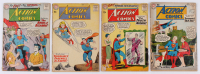 "Lot of (4) 1959-1960 ""Superman"" Action Comics DC Comic Books at PristineAuction.com"