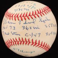 Warren Spahn Signed LE ONL Baseball with Multiple Inscriptions (Beckett COA & PSA Hologram) at PristineAuction.com