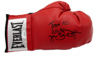 "James ""Buster"" Douglas Signed Everlast Boxing Glove Inscribed ""Tyson KO 2/11/90"" (JSA COA) at PristineAuction.com"