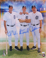 Kirk Gibson, Alan Trammell, & Lance Parrish Signed LE Detroit Tigers 16x20 Photo (JSA COA) at PristineAuction.com