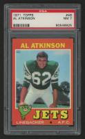 1971 Topps #48 Al Atkinson (PSA 7) at PristineAuction.com